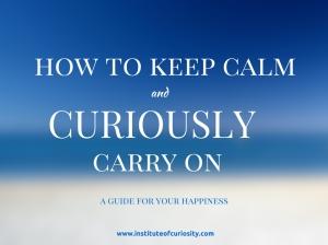 how to keep calm image